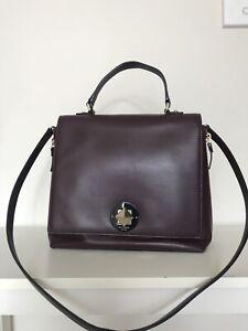 Kate Spade leather Varick Street Abbie Satchel bag