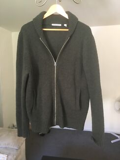 Country Road Forest Green Shawl Cardigan size large