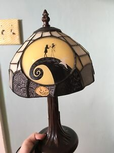 Tiffany styled nightmare before Christmas lamp