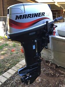 As new 15hp Mariner short shaft Maddington Gosnells Area Preview