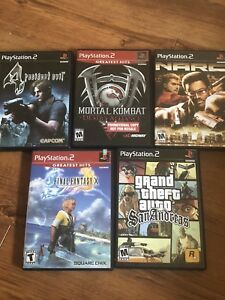 Ps2 games,