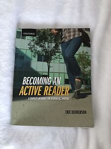 Becoming An Active Reader COMM1101