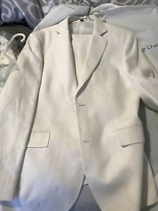 White Linen suit (3 piece suit)