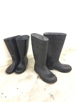 Gum boots $10 for each  Good for shed/farm job