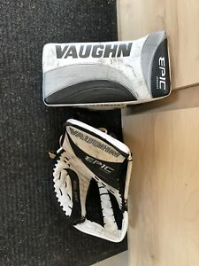 Vaughn Epic glove and blocker