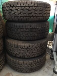 195 60R15 Winter tires and Chevrolet Cobalt rims