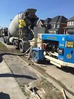 Concrete pumping! Great rates