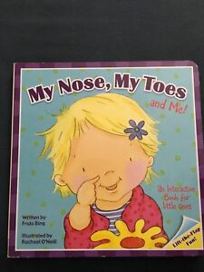 My nose my toes and me (board book with flaps)