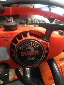 Homelite chainsaw super xl 2
