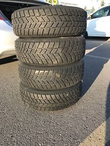 4 winter tires size 195/65R15 91T