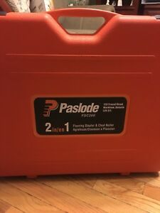 Paslode FSC 200 - 2 in 1 Floor Stapler and Cleat Nailer $500