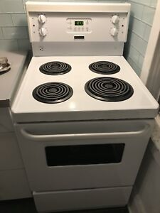 "24"" Frigidaire electric stove."