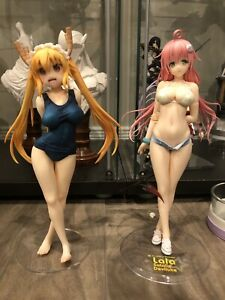 Tohru and Lala anime figure - dragon maid & to love ru