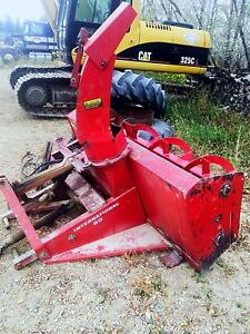 INTERNATIONAL 80 SNOWBLOWER