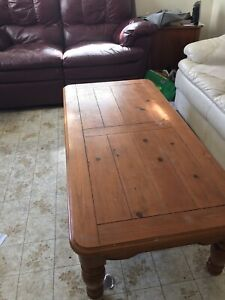 Coffee table & Kitchen table