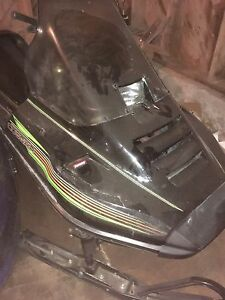 Arctic cat cougar 440 sled
