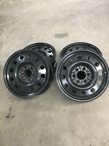 4 new 18'' steel wheels for f150