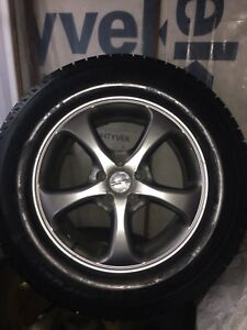 "18"" Michelin Snow Tires 265R 60 18"