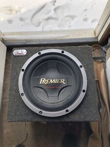 Pioneer and power bass sub and amp.