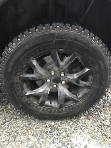 Tires/Rims/Jeep Cherokee Trailhawk