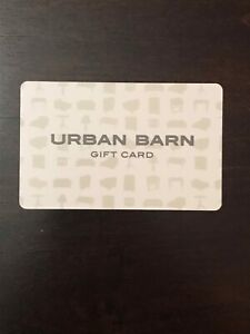 Urban Barn Gift Card