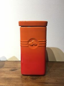 Creuset Coffee Canister