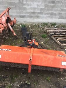 L2062A 5' foot Kubota mount sweeper