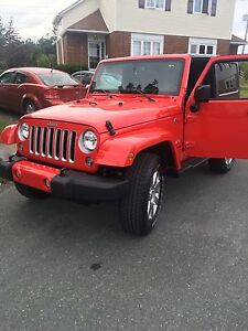 2016 Jeep Wrangler 2 door Sahara