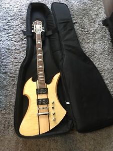 BC Rich Mockingbird neck-thru