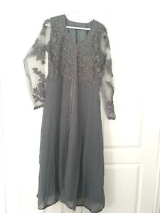 Grey Indian Top with Dupatta