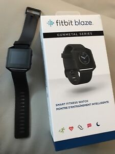 Fitbit blaze noir edition