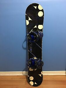 Used RIDE Women's snowboard with boots