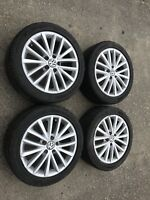 "17"" OEM Volkswagen Alloy Wheels/ All Season Tires"