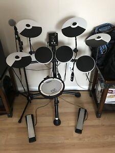 Roland td-kv electronic drum set