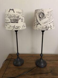 French Provincial/paris Lamp Shades