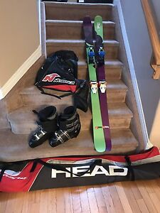 Head Downhill Skis/Bindings with  Dalbello men's size 10 package