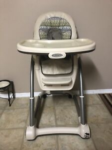 Graco Blossom 4-in-1 High Chair/Booster seat