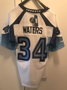 Swayze Waters Toronto Argonauts Jersey *New with Tags*