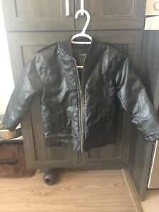 Boy's faux-leather jacket for sale