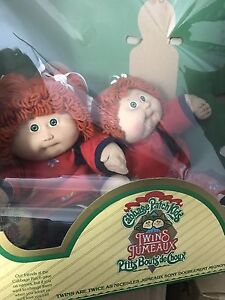 Cabbage patch kids. Vintage collection. Still in box.