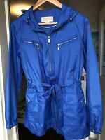 Michael Kors sky blue Rain Jacket