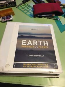 Portrait of the Earth 5th edition