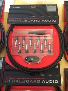 D'addario Solderless cable audio kit. Brand new $110