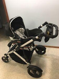 Britax B-ready stroller and b-safe car seat combo
