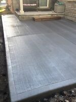 Concrete/cement work