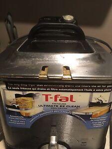 T gal easy clean deep fryer