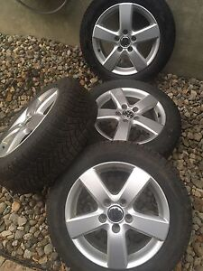VW Jetta (MK6) 16'' OEM Rims/Winter Tires