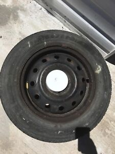 All season tire and  rim  for sale