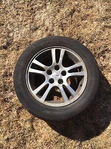 4 Tires 215/60r16   5 Bolt summers