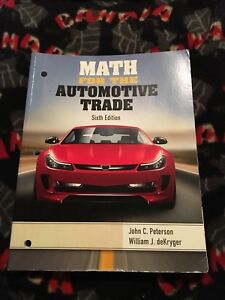 Gently used Automotive College Textbooks
